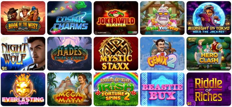 spelautomater i casinon utan svensk licens